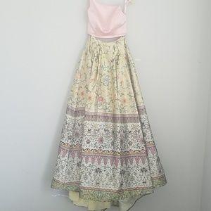 Prom 2 piece sherri hill gown dress